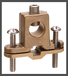 Grounding Clamp Bronze Ground Clamps